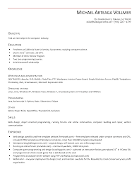 Simple Resume Sample For Job by Resume How To Create A Resume Without Job Experience Resume
