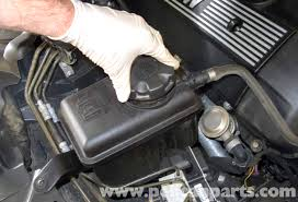 bmw e60 5 series draining and filling the cooling system 2003