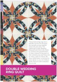Double Wedding Ring Quilt by Double Wedding Ring Early May Embroidery Original Machine And
