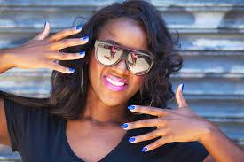 lip and nail color combos nina ultra pro cobalt on dark skin femme