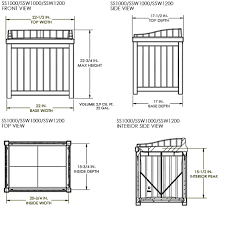 ssw1200 u2013 83 litre garden storage seat suncast