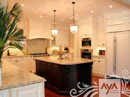 Traditional Kitchens With Islands Traditional Kitchen Wooden Island Lacquered Aya