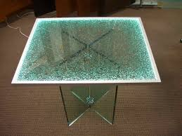 Patio Table Glass Shattered Best Shattered Glass Coffee Table Professionally Designed