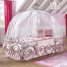 White Metal Canopy Bed by Amazing Design Of The Princess Canopy Bed With White Silk Curtain