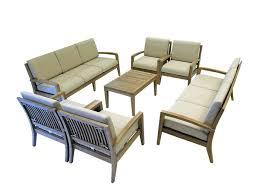 Teak Furniture Patio Beautiful Outdoor Oloa Patio Teak Furniture Sofa Set New