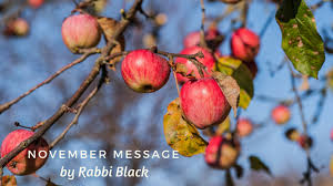 november message u2014from rabbi black canada