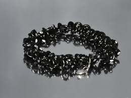 mens bracelet black beads images Men bracelets jpeg