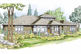 Prairie Style House Design Prairie Style House Plans Metolius 30 746 Associated Designs