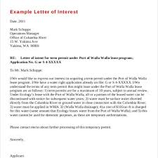 Example Of Letters Of Interest by Amazing Example Of Letter Of Interest U2013 Letter Format Writing