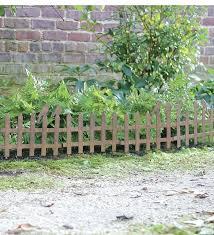garden border fence brilliant fencing ideas for vegetable gardens