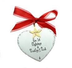our 1st together ornament decor ideas