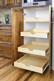 pull out shelving for kitchen cabinets furniture elegant sliding kitchen shelves drawers for cabinets