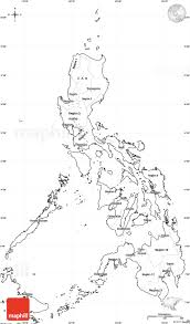 Blank Political Map by Blank Simple Map Of Philippines