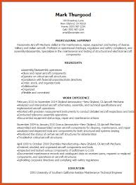 Aircraft Mechanic Resume Template Aircraft Mechanic Resume Aircraft Mechanic Resume Aircraft
