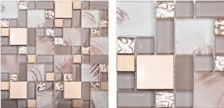 glass mosaic kitchen backsplash glass blend metal mosaic kitchen backsplash tile ssmt113 gold
