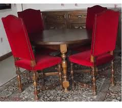 chaises louis xiii table ronde style louis xiii et ses 4 chaises rochefort en