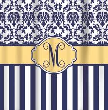 Blue And Yellow Shower Curtains Shower Curtains