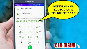 Kode Kuota Gratis Telkomsel   heboh kode kuota gratis 17gb telkomsel 2018 youtube