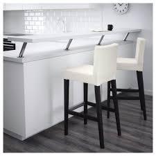 Ikea Bar Stool Covers Henriksdal Bar Stool With Backrest 30x19