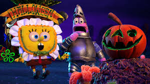 spongebob squarepants u0027 gets halloween themed stop motion special