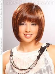bib haircuts that look like helmet medium bob hair with small choppy bangs exle of what i don t