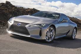 lexus lc f sport driven 2017 lexus lc 500 and lc 500h autoevolution