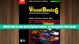 free download microsoft visual basic 6 introductory text