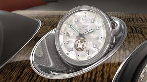bentley offering world u0027s most expensive in car clock