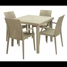 tavoli e sedie usati per bar tavolo boheme contract simil rattan tavoli bar ristorante quadrati