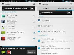 android helium how to backup android phone restore it with ease