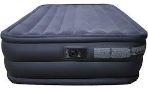 intex beds intex raised downy queen air mattress