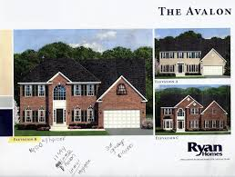 building a ryan home avalon the beginning stages the options