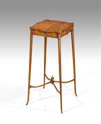 Urn Table L Satinwood Urn Stand Georgian Kettle Stand Antique Urn Table