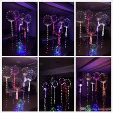 balloons shaped like light bulbs romantic led light balloon for wedding celebration party bar