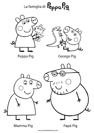 peppa pig 74 dessins animés u2013 coloriages à imprimer