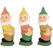 novelty gift blue garden gnome ornament garden ornaments
