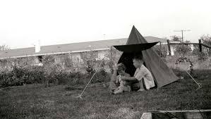 Camping In The Backyard John U0026 Dorothy