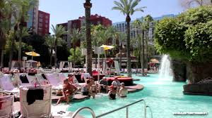 Tour of Flamingo GO Pool Flamingo Las Vegas HD