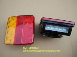 submersible led boat trailer lights tail led lights l with number plate light pair boat trailer