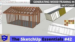 download google sketchup tutorial complete zip creating wood framing in sketchup the sketchup essentials 42