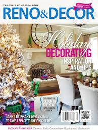home decor magazines toronto reno u0026 decor magazine dec jan 2016 by homes publishing group issuu