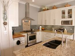 Top Kitchen Wall Colors  SMITH Design - White kitchen wall cabinets
