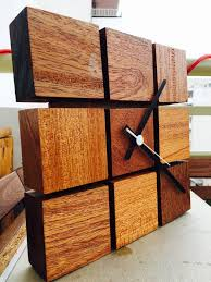 wood ideas best 25 wooden clock ideas on 8 x 8 wall clock wood