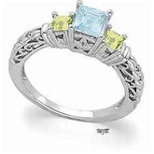 mothers rings white gold personalized sterling birthstone stack rings with free