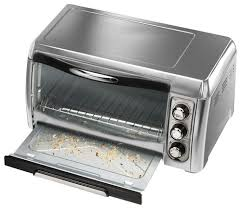 Toaster Oven With Toaster Hamilton Beach Convection Toaster Oven Silver 31333 Best Buy