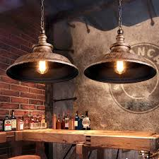 Antique Pendant Light Interesting Vintage Pendant Light Loft Antique Painting Industrial