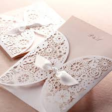 affordable laser cut blush pink lace wedding invitation