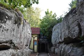 fairyland caverns at rock city gardens in chattanooga tennessee