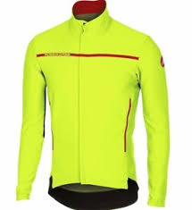 fluorescent cycling jacket castelli perfetto cycling jacket fluorescent yellow rrp 180 now
