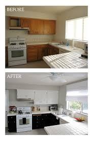 how to update rental kitchen cabinets diy kitchen update light upper dark lower cabinets kitchens